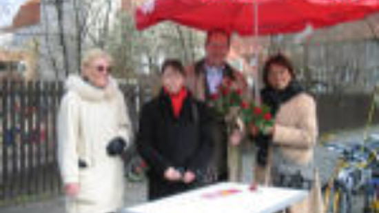 Marianne Heise, Peggy Keller, Stefan Schostock, Edit Bastian (v.l.)