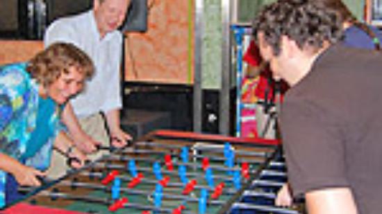 Bildungskick 2009 mit Kerstin Tack und Stefan Schostok