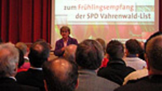 100 Gäste beim SPD-Frühlingsempfang