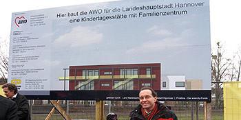 Spatenstich für die neue AWO-Kita in der Gottfried-Keller-Straße